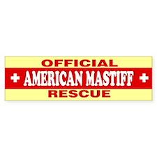 AMERICAN MASTIFF Bumper Bumper Sticker