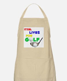 Itzel Lives for Golf - BBQ Apron