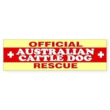 AUSTRALIAN CATTLE DOG Bumper Bumper Sticker