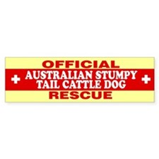 AUSTRALIAN STUMPY TAIL CATTLE DOG Bumper Bumper Sticker