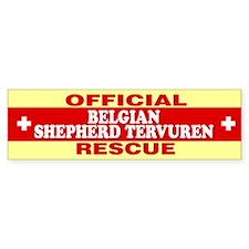 BELGIAN SHEPHERD TERVUREN Bumper Bumper Sticker