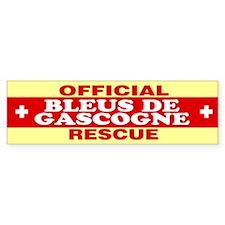 BLEUS DE GASCOGNE Bumper Bumper Sticker