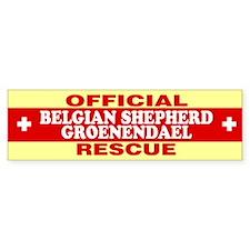 BELGIAN SHEPHERD GROENENDAEL Bumper Bumper Sticker