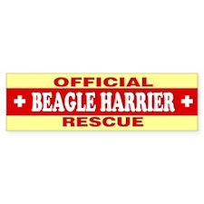 BEAGLE HARRIER Bumper Bumper Sticker