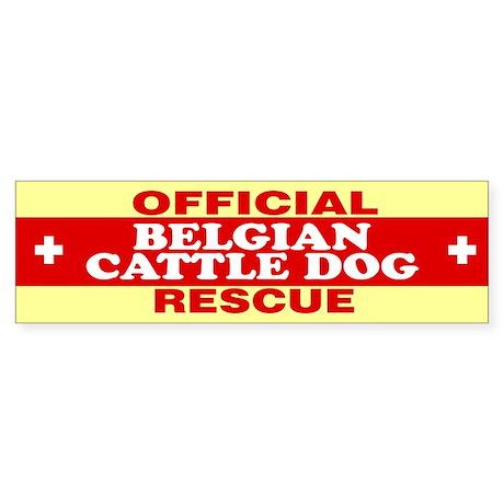 BELGIAN CATTLE DOG Bumper Sticker