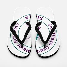 SDDMA Logo.jpg Flip Flops