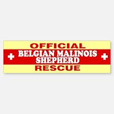 BELGIAN MALINOIS SHEPHERD Bumper Bumper Bumper Sticker