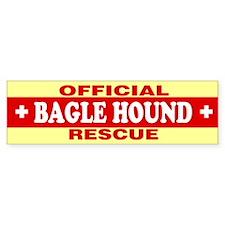 BAGLE HOUND Bumper Bumper Sticker