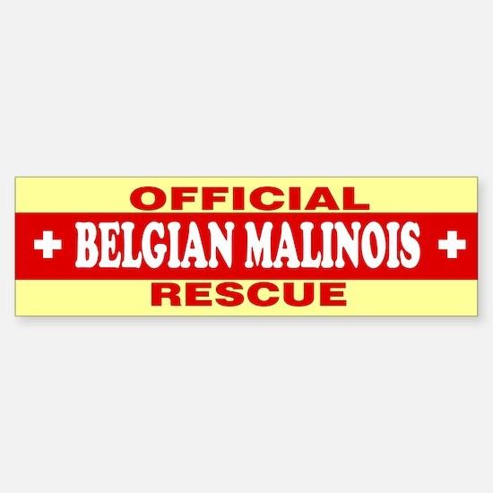 BELGIAN MALINOIS Bumper Bumper Bumper Sticker