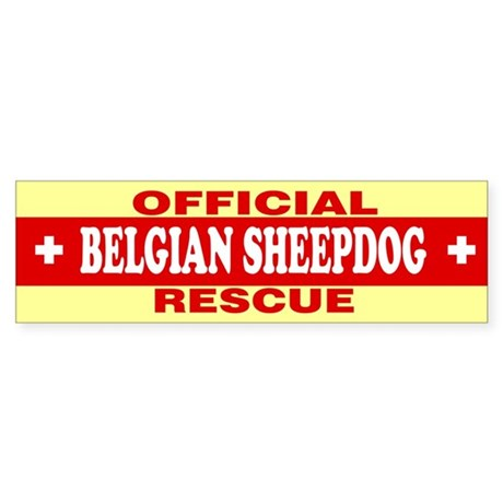 BELGIAN SHEEPDOG Bumper Sticker