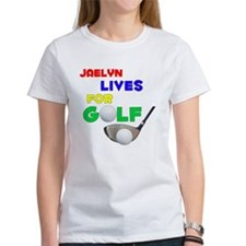 Jaelyn Lives for Golf - Tee