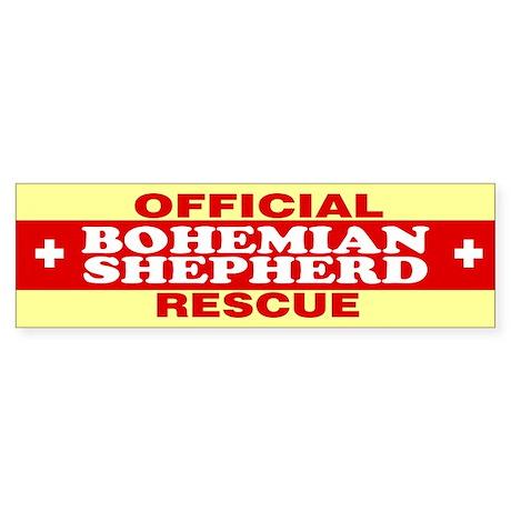 BOHEMIAN SHEPHERD Bumper Sticker