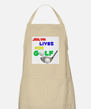 Jailyn Lives for Golf - BBQ Apron