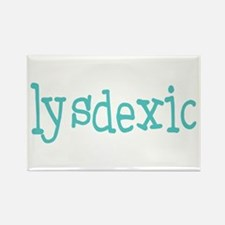 Dyslexic Rectangle Magnet