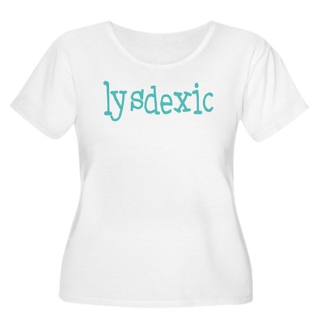 Dyslexic Women's Plus Size Scoop Neck T-Shirt