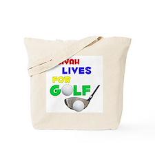Jaliyah Lives for Golf - Tote Bag