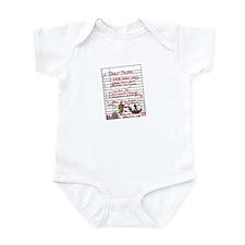 Geek Gamer Santa List Infant Bodysuit