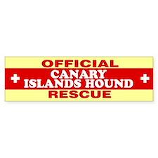 CANARY ISLANDS HOUND Bumper Bumper Sticker