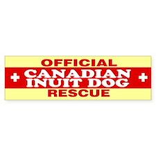 CANADIAN INUIT DOG Bumper Bumper Sticker