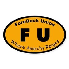 ForeDeck Union Decal