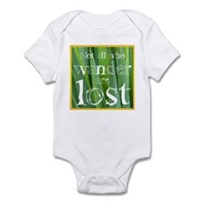 All who wander are not lost Infant Bodysuit