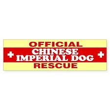 CHINESE IMPERIAL DOG Bumper Bumper Sticker