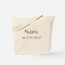 Aidan's Up To No Good Tote Bag
