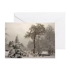 Winter Landscape Photo Greeting Card