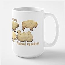 Animal Crackers Large Mug