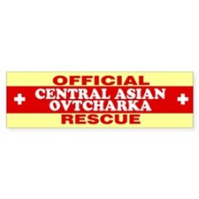 CENTRAL ASIAN OVTCHARKA Bumper Bumper Sticker