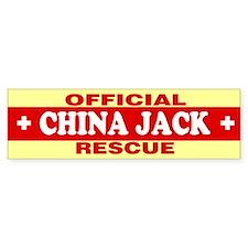 CHINA JACK Bumper Bumper Sticker