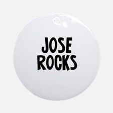 Jose Rocks Ornament (Round)