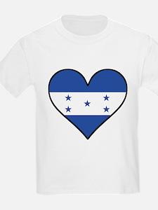 Honduran Flag Heart T-Shirt