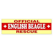 ENGLISH BEAGLE Bumper Bumper Sticker
