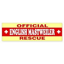 ENGLISH MASTWEILER Bumper Bumper Sticker