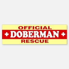 DOBERMAN Bumper Bumper Bumper Sticker