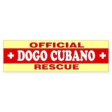 DOGO CUBANO Bumper Bumper Sticker