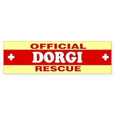 DORGI Bumper Bumper Sticker