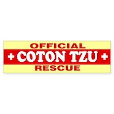 COTON TZU Bumper Bumper Sticker
