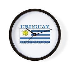 Uruguay Uruguayan Flag Wall Clock