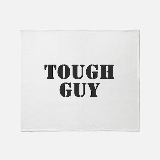 TOUGH GUY Throw Blanket