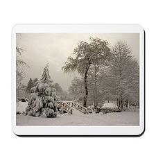 Winter Landscape Photo Mousepad