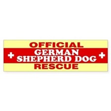 GERMAN SHEPHERD DOG Bumper Bumper Sticker