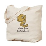 Thinker Baby Tote Bag