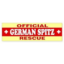 GERMAN SPITZ Bumper Bumper Sticker