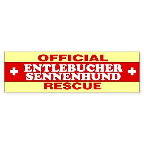 ENTLEBUCHER SENNENHUND Bumper Sticker