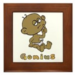Baby Genius Framed Tile