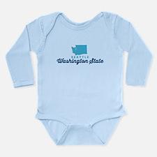 Seattle. Long Sleeve Infant Bodysuit