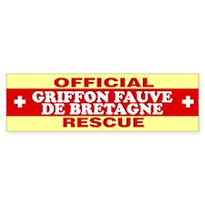 GRIFFON FAUVE DE BRETAGNE Bumper Bumper Sticker