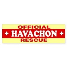 HAVACHON Bumper Bumper Sticker